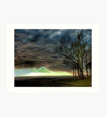 Chanctonbury : Blowing a Gale Art Print