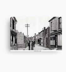 134 - HIGH STREET, RHOSLLANERCHRUGOG, WALES - DAVE EDWARDS Canvas Print
