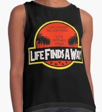 Life Finds A Way Contrast Tank