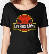 Life Finds A Way Women's Relaxed Fit T-Shirt