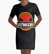 Life Finds A Way Graphic T-Shirt Dress