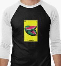 Loteria: La sandia Men's Baseball ¾ T-Shirt