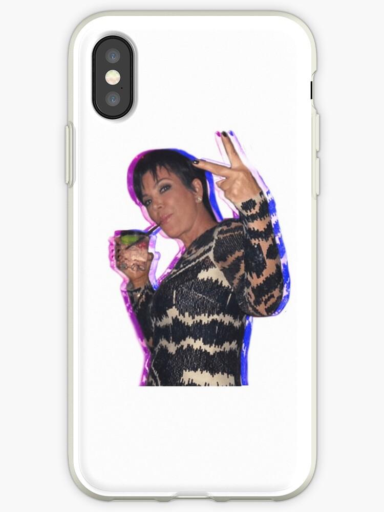 Kris Jenner Sticker by Alyssa Mio