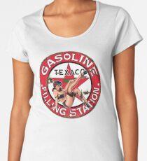 Texaco Retro Sign Women's Premium T-Shirt