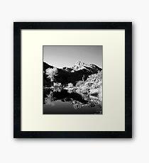 Desert Mountains Framed Print