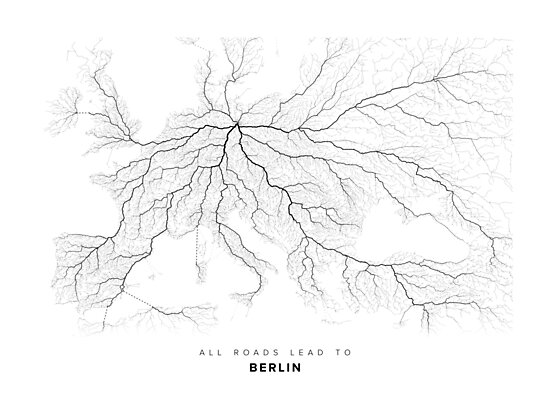 All Roads Lead to Berlin (Landscape edition) by LaarcoStudio