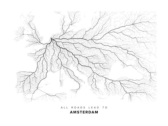 All Roads Lead to Amsterdam by LaarcoStudio