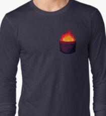 FIRE DEMON IN A POCKET Long Sleeve T-Shirt