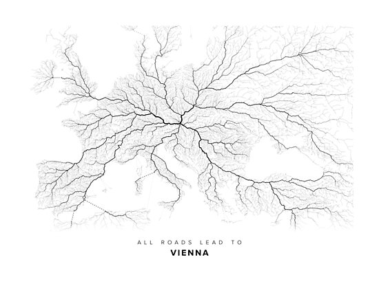 All Roads Lead to Vienna by LaarcoStudio