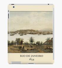 Rio De Janeiro 1854 iPad Case/Skin