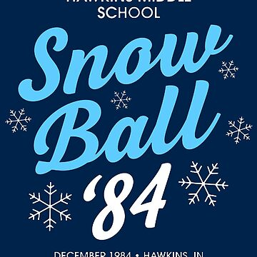 Hawkins Snow Ball '84 by magicbyalexis