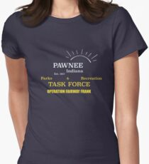 Fairway Frank (for dark shirts) Womens Fitted T-Shirt
