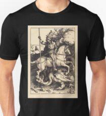 Albrecht Dürer or Durer Saint George Killing the Dragon Unisex T-Shirt