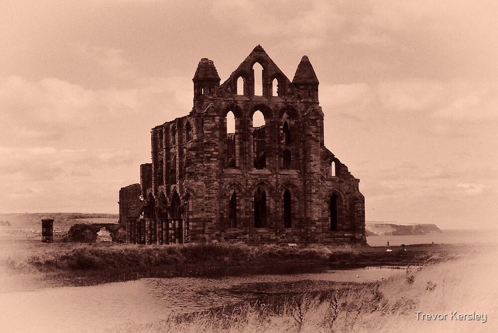 Whitby Abbey by Trevor Kersley