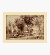 Yale University 1836 Photographic Print