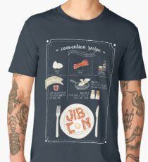 JIBCon - Makin' Bacon! Men's Premium T-Shirt