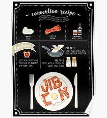 JIBCon - Makin' Bacon! Poster