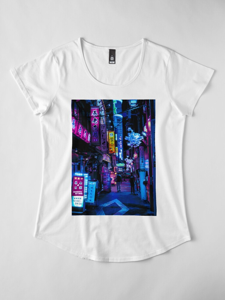 Alternative Ansicht von Blade Runner Vibes Premium Rundhals-Shirt