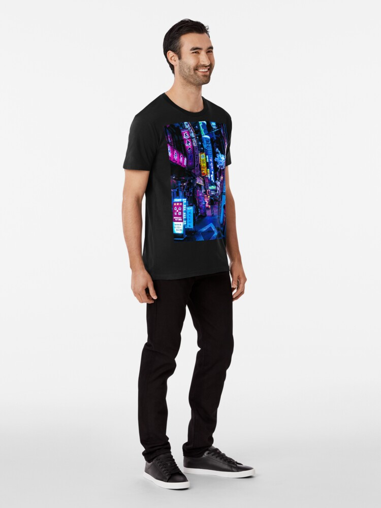 Alternate view of Blade Runner Vibes Premium T-Shirt
