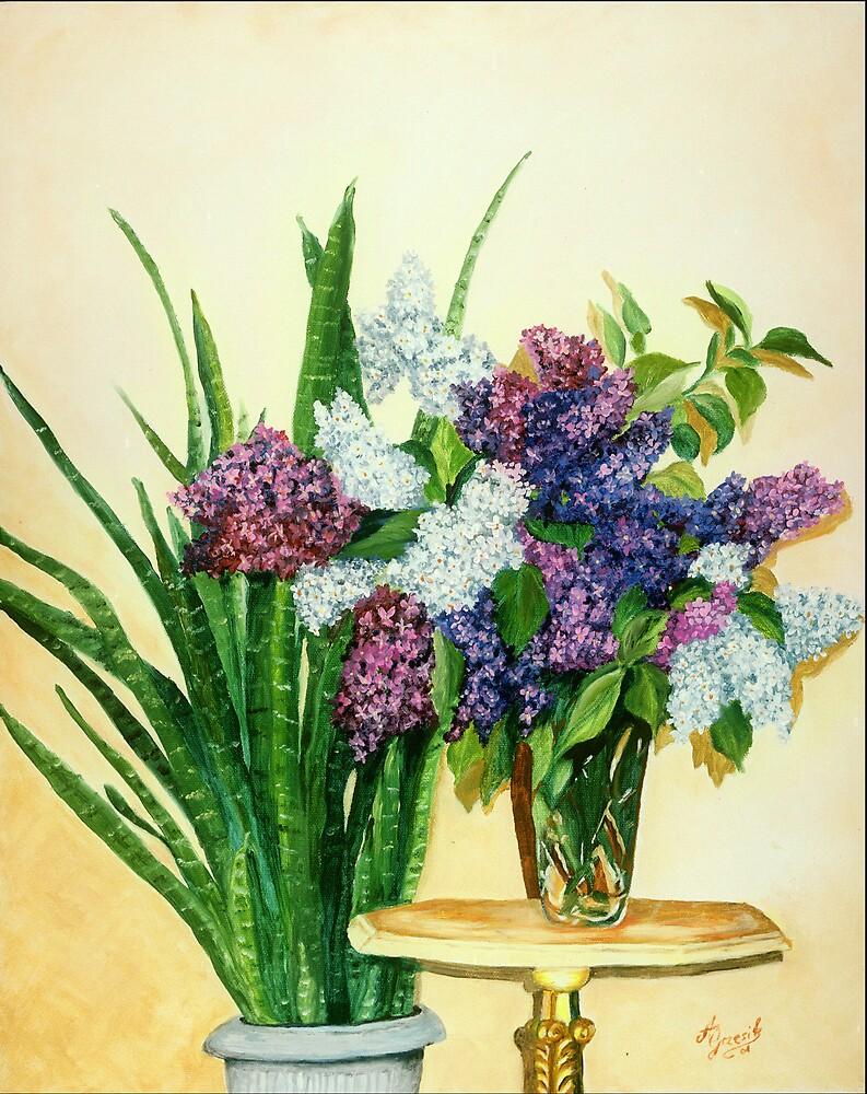 Lilacs II by Anna Grzesik