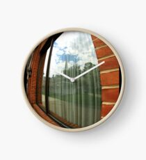 Window reflection Clock