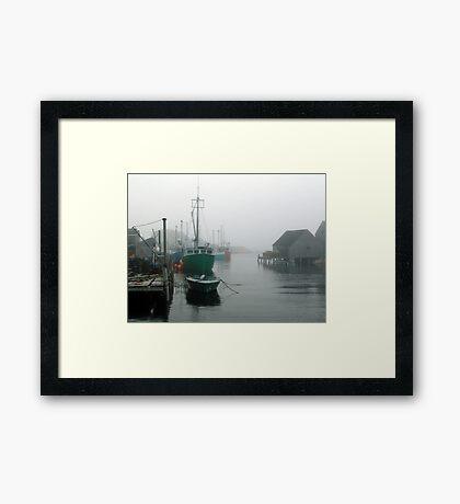 Misty Afternoon  Framed Print