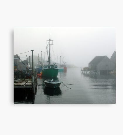 Misty Afternoon  Metal Print