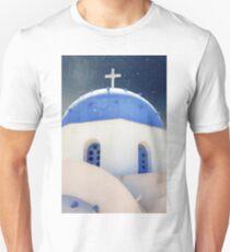 Greek Chapel Unisex T-Shirt