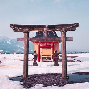Japanisches Tori von HimanshiShah
