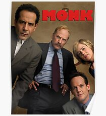 Cast from Monk Poster
