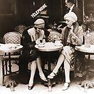 Paris Cafe by mindydidit
