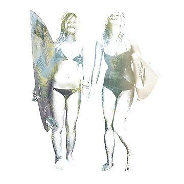 surfer girls by AbbyDowning