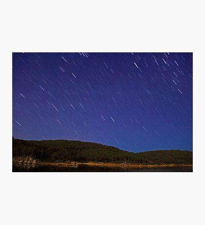 Raining Stars  Photographic Print