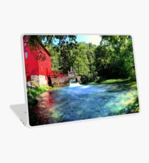 A Day at Abbey Mill Laptop Skin