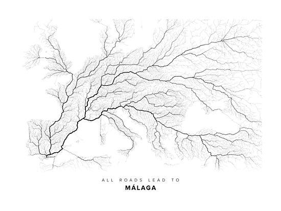 All Roads Lead to Málaga by LaarcoStudio