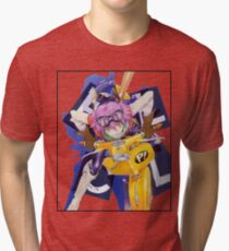 FLCL Haruko Tri-blend T-Shirt