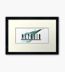 Final Fantasy VII/Metroid Logo Framed Print