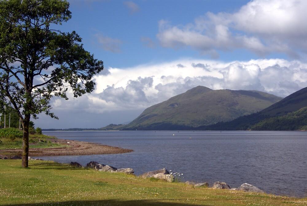 Loch Linnhe, Fort William, Scotland by Stephen Lamb
