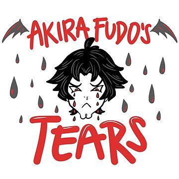 Akira Fudo's Tears by astrayeah