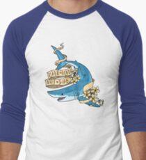 Mako Love, Not War Men's Baseball ¾ T-Shirt