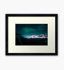 Nightlights Framed Print