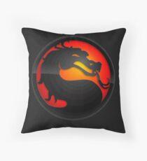 Mortal Kombat Insignia Throw Pillow