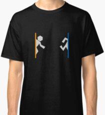 Portal Man Polygonal Design Classic T-Shirt