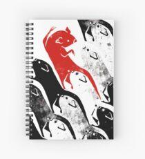 Tiling Mice Spiral Notebook