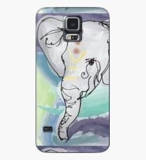 Tranquil Elephant Case/Skin for Samsung Galaxy