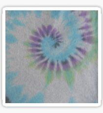 Spiral Tie Dye grey Sticker