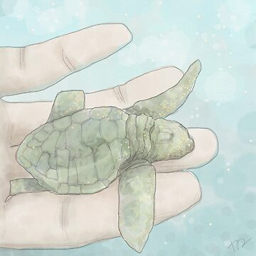 Baby Sea Turtle by PenguinLeaf