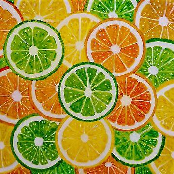 Oranges, Lemons And Limes by IvysCraftShop