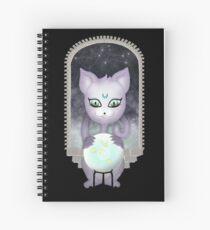 Mystic Miku | Crystal Ball & Zodiac | Black Spiral Notebook