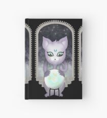 Mystic Miku   Crystal Ball & Zodiac   Black Hardcover Journal
